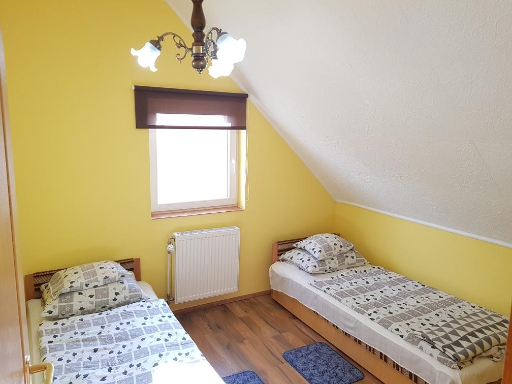 2 ágyas szoba a Deák Vendégház épületében